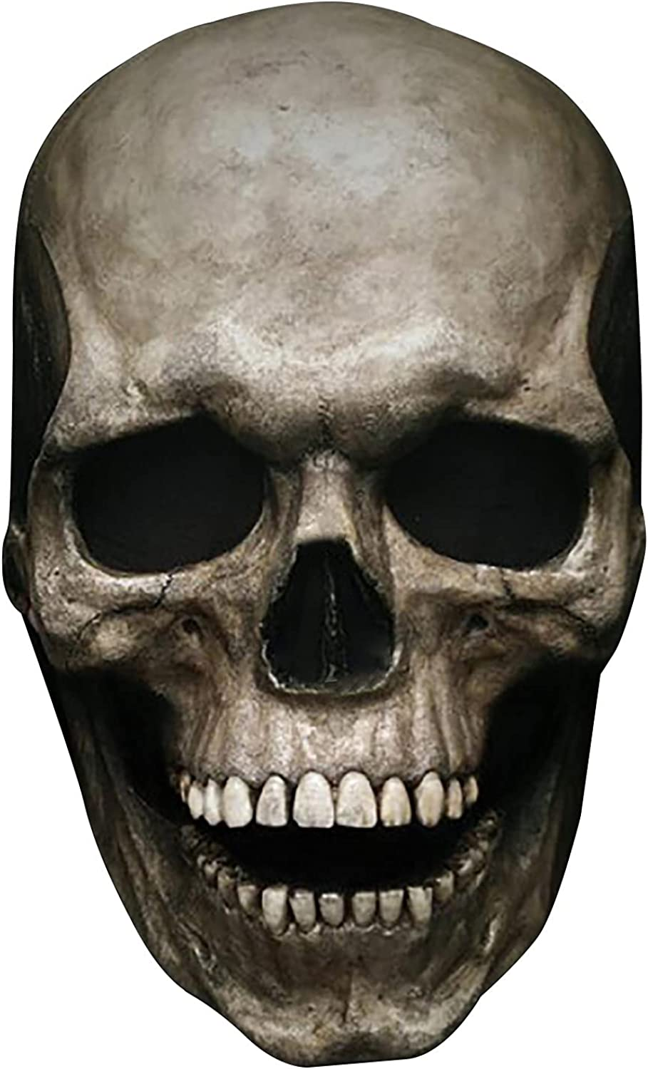 Full Head Max 62% OFF Skull Helmet with Moving Ha VERSION Scary Jaw NOT HARD Mail order
