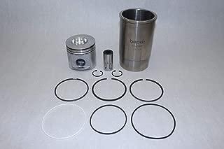 Fits John Deere 3029, 2.9L Powertech Cylinder Kit New Piston: RE45323