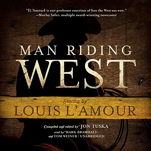 Man Riding West audiobook cover art
