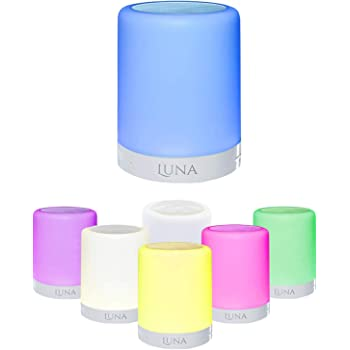 Bluetooth Wireless Speaker Night Light by Illuminate Magic: 3-in-1 LED Night Light/Touch LED Lamp with MP3 Player/Bedside Lamp with Dimmable Colors/Speaker Phone in Gift Packaging  Top Gifting Idea