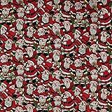Fabric Freedom Stoff mit Vintage-Weihnachtsmotiv, 100%
