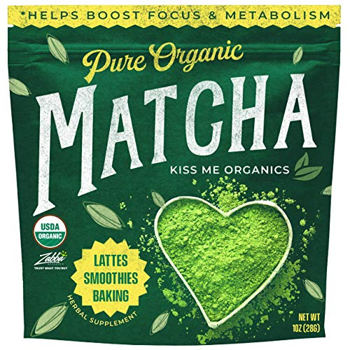 ORGANIC, VEGAN & NON-GMO. Made from 100% organic Japanese matcha powder, lab tested to ensure its additive and chemical-free. You get the purest matcha powder packed with vital antioxidants and nutrients missing from most North American diets like EG...