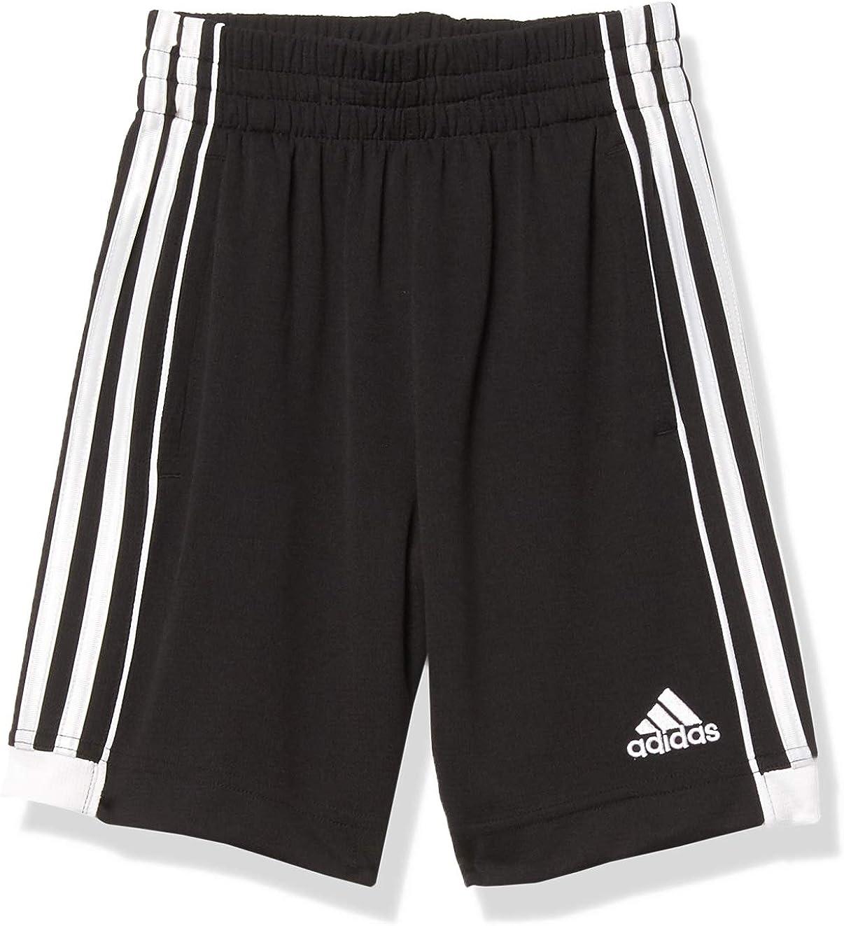 adidas Boys' Big Active Mesh Short (DISC), Speed 18 Black, XS(7)