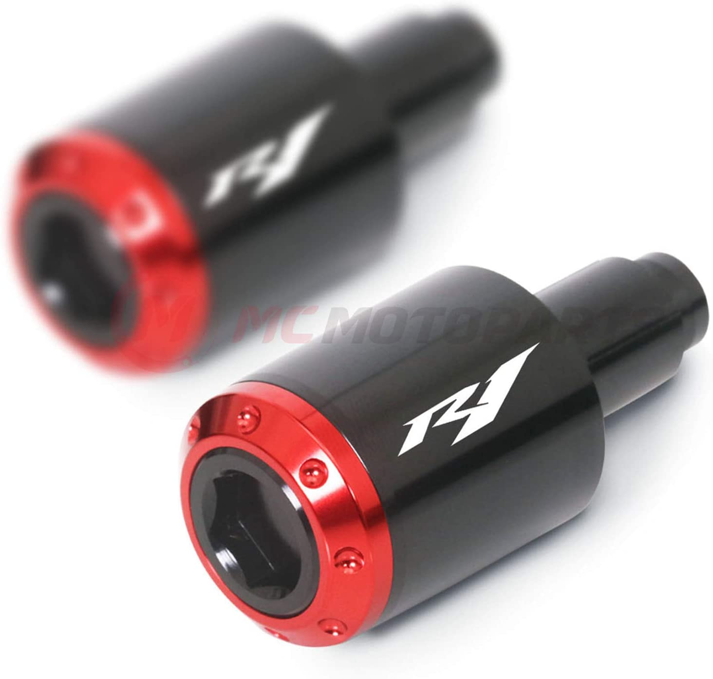 MC MOTOPARTS ATOM Handle Bar End YZF with Compatible Sliders Max Max 88% OFF 43% OFF R1