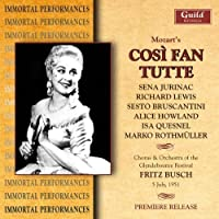 Cosi Fan Tutte: Glyndebourne 1951 by VARIOUS ARTISTS (2005-05-31)
