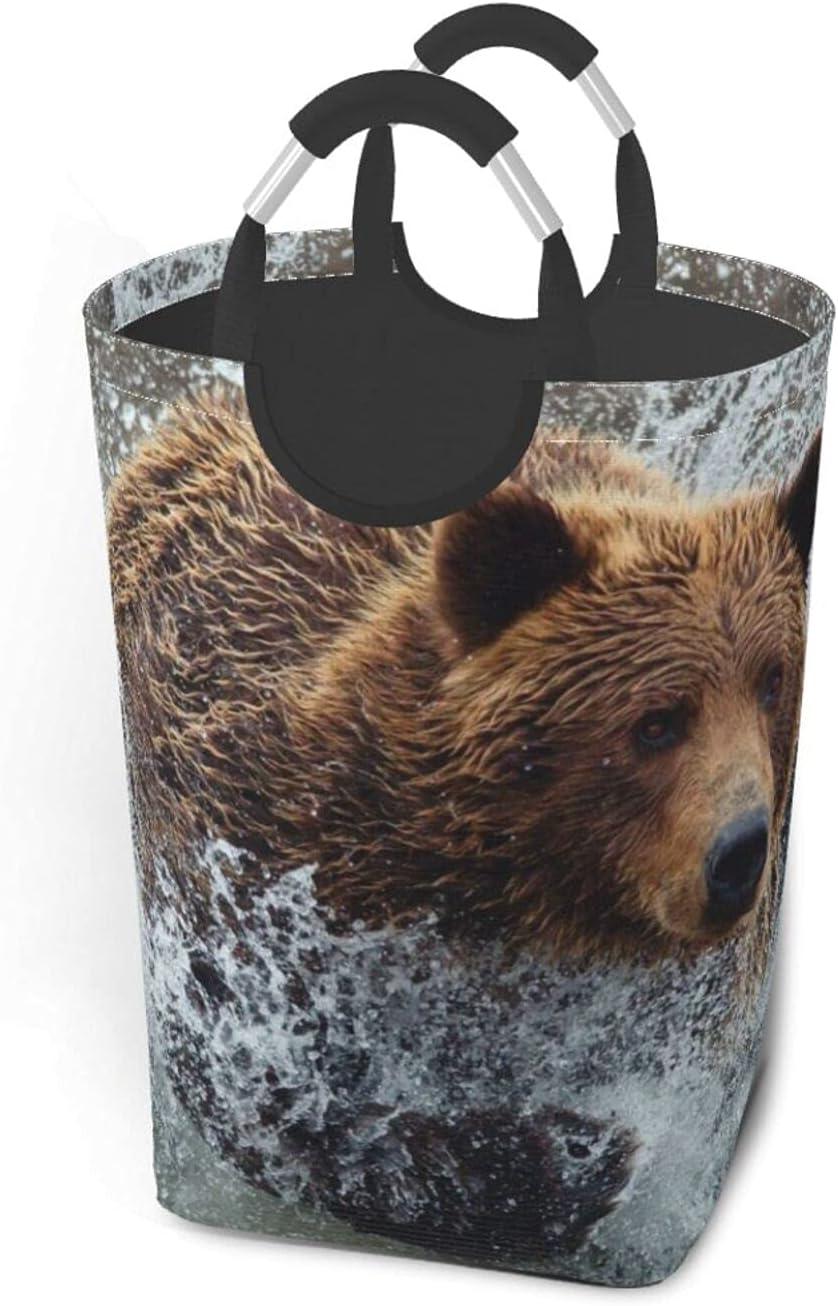 Bear Running Large Regular dealer Dirty Clothes Bag 4 years warranty Portable