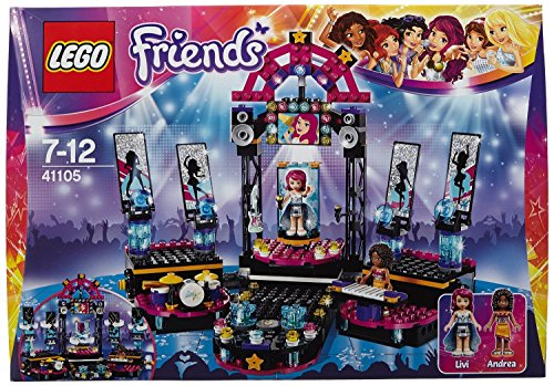 LEGO Friends 41105 - Popstar Showbühne