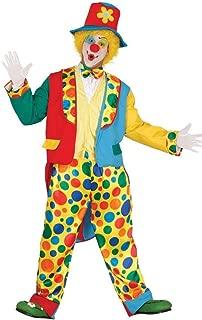 PAGLIACCIO Ragazzo Ragazza Bambini Donna Uomo Tuta Costume Costume Clown Circo CAPPELLO