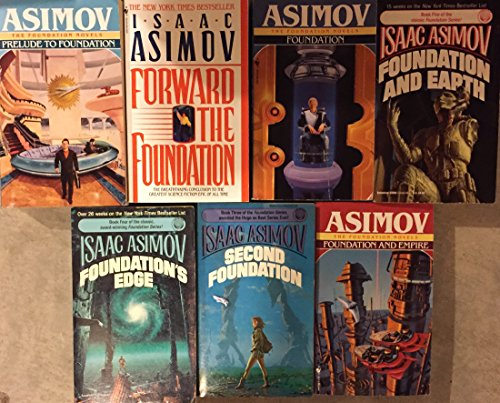 Price comparison product image Complete Foundation Novel Set by Isaac Asimov