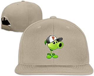 LeoBird Men's Peashooter Costume Baseball Snapback Hat Adjustable Six Panel Sunscreen Hats