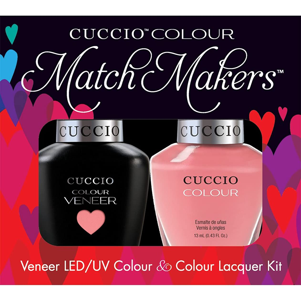 更新流用する優先Cuccio MatchMakers Veneer & Lacquer - Turkish Delight - 0.43oz/13ml Each