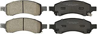 KFE KFE1169A-104 Ultra Quiet Advanced Premium Ceramic Brake Pad FRONT Set For: 2009-2017 Chevrolet Traverse; 2007-2016 GMC Acadia; 2008-2017 Buick Enclave; Saturn Outlook