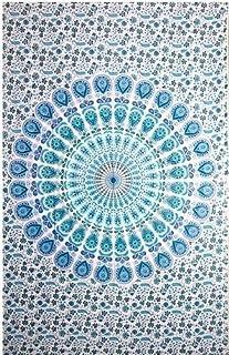 Popular Twin Hippie Indian Tapestry Elephant Mandala Throw Wall Hanging Gypsy Bedspread By Popular Handicrafts by Popular ...