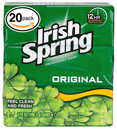 Irish Spring Deodorant Soap (20 Count, Original)