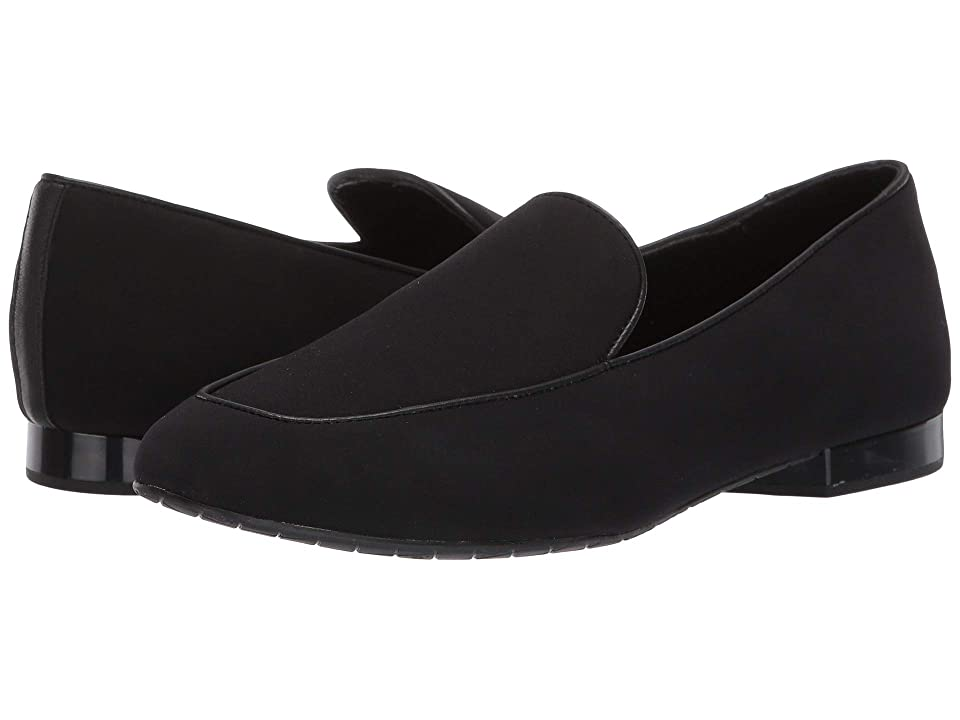Donald J Pliner Heddy (Black Crepe Elastic) Women
