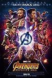 Printing Pira Avengers Infinity War Offical Poster - 2018 Marvel Movie (11x17)