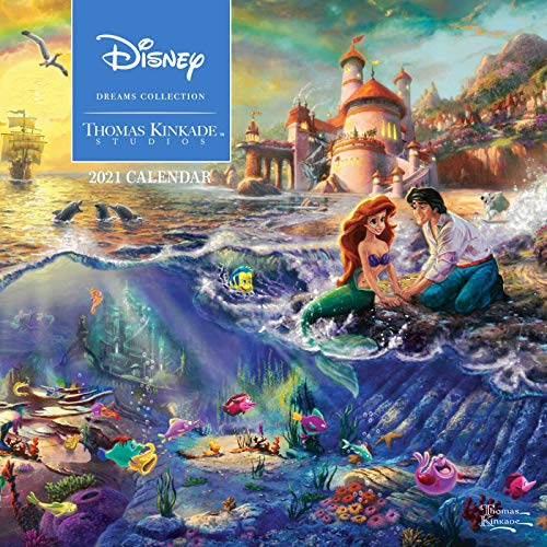 Thomas Kinkade: The Disney Dreams Collection - Sammlung der Disney-Träume 2021: Original Andrews McMeel-Kalender