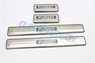 OLIKE for Ford Fusion 2013-2019 Car Led Door Sill Scuff Plate Guard Sills Protector Trim