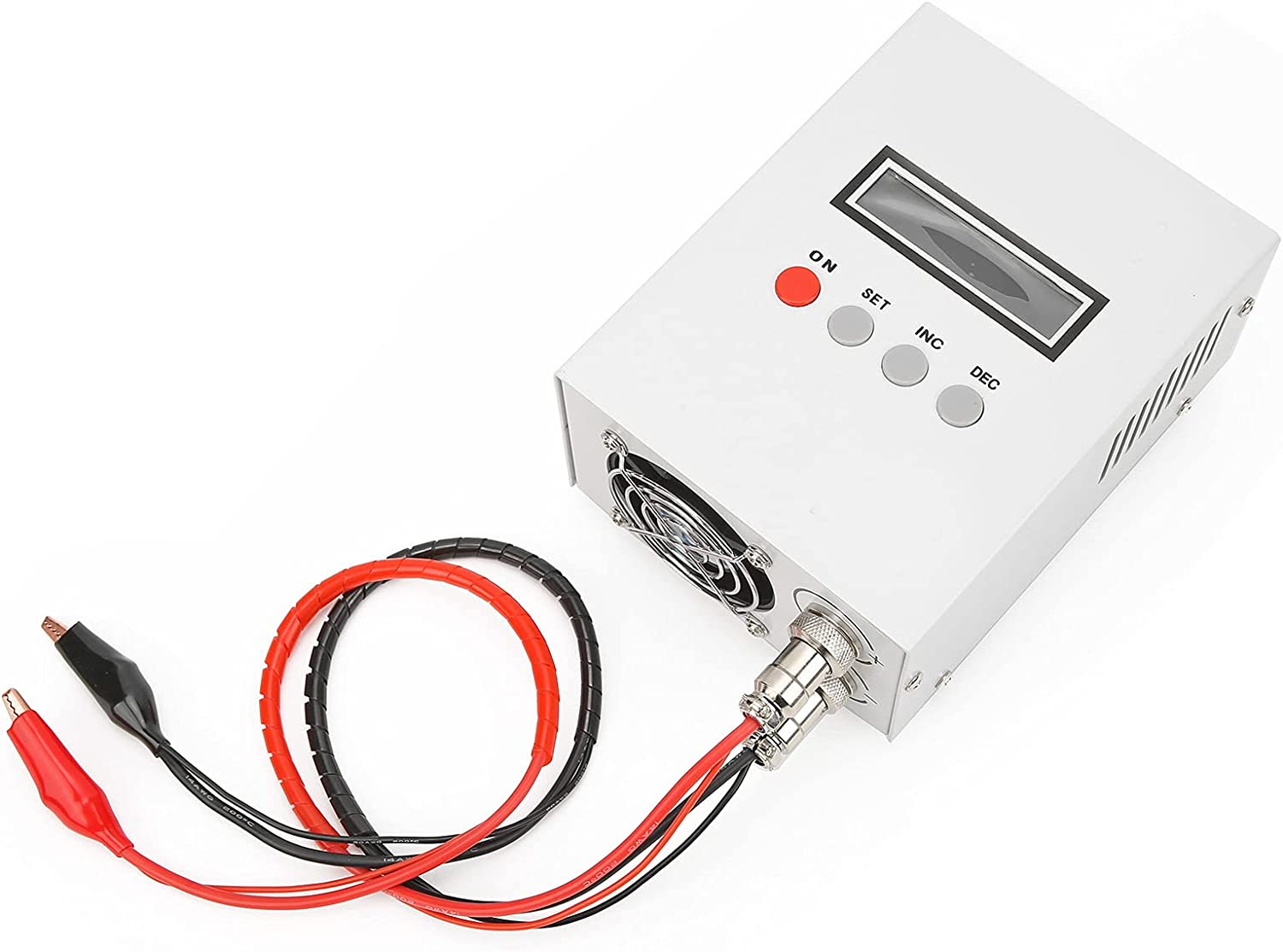 EBC‑A 20 Battery Capacity Tester Lead‑Acid Lithium Iron 5A Charge 20A Discharge Electronic Load Meter Four‑wire Support Computer AC 100‑240V((US Plug))