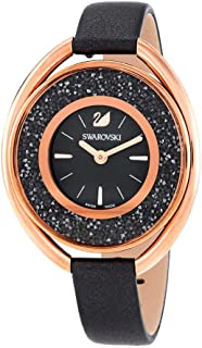 Swarovski Womens Quartz Watch, Analog Display and Leather Strap 5230943