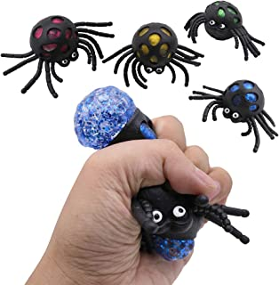 POPLAY Squishy Ball/Vent Toys/Slime Stress Ball/Anti Stress Toys,Spider Ball,4 PCS