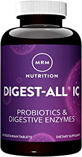 MRM Digest-All IC - Probiotic & Digestive Enzymes – 60 Vegetarian Capsules