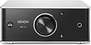Denon PMA30SPE2 PMA-30 Design Series Amplificador integrado (Bluetooth, Entrada digital / analógica, 2 x 40W) Negro / Alum...