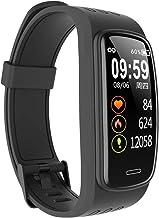 Docooler Smart Band 0,96 inch IPS HD-display, fitnesstracker, hartslag/slaap/bloeddrukmeter, waterdicht, sporthorloge, com...