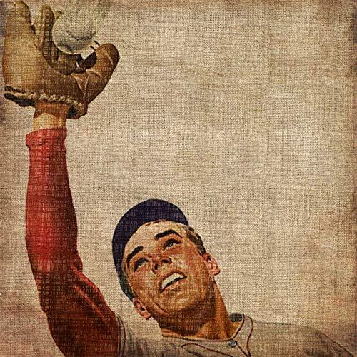 Kunstdruck-auf-Papier-cm_60_X_60-Butler-John-Games-&-Sport-Bild-Poster-Vintage-Sports-Sporting-Abbildung-Figurative-Home-Office-Baseball-Fanghandschuh-Spiel