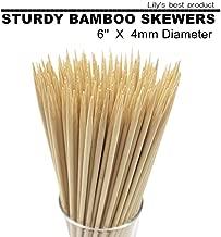 Best 5 inch bamboo skewers Reviews