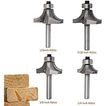 Bosch 2 608 628 345 - Fresas para redondear - 8 mm, R1 15 mm, L 22 mm, G 66 mm (pack de 1): Amazon.es: Bricolaje y herramientas