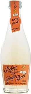 Belvoir Fruit Farms Organic Ginger Beer, All Natural Cocktail Mixer, 8.4 fl oz (12 Glass Bottles)