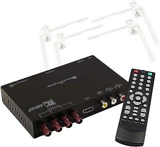 「FAK4X4TUNER」高精細度 地デジチューナー FAKRAコネクター フルセグチューナー HDMI 4x4 miniB-CASカード付き 宅配便
