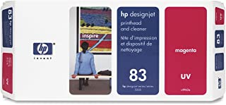 HP 83 C4962A UV Printhead and Printhead Cleaner for DesignJet 5000 series, Magenta