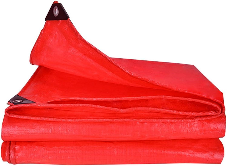 WSGZH Rote Polyäthylenplanen-Boden-bedeckte Zelt-Auflage Zelt-Auflage Zelt-Auflage Camping Und Im Freien - 100% Wasserdicht Und UVschutz B07KNXDJSX  Wunderbar 57c0d0
