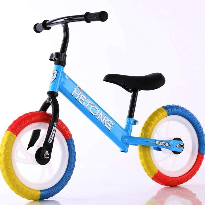 mejor moda Sexykey KY Balance Bike para Niños y Niños pequeños, pequeños, pequeños, sin Entrenamiento con Pedales y Andar en Bicicleta Manillar y Asiento Ajustables, para Edades de 2 a 6 años,azul,B  entrega de rayos