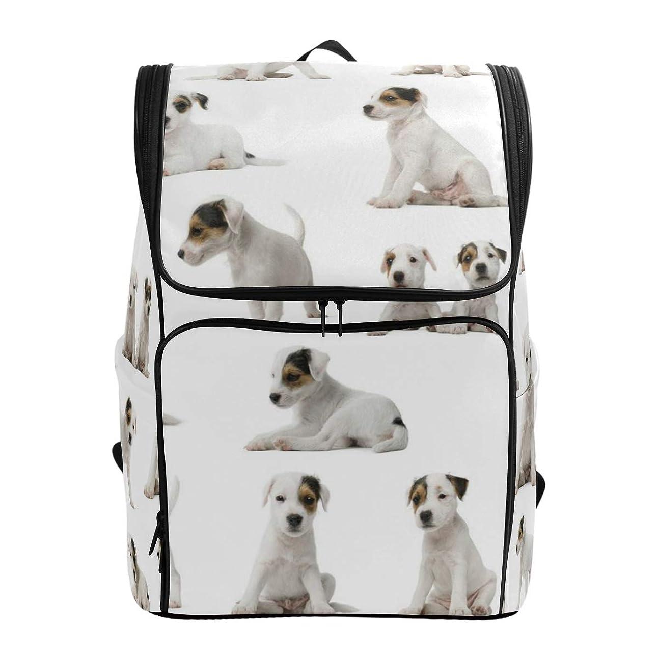 所属大臣横マキク(MAKIKU) リュック 大容量 リュックサック 犬 犬柄 レディーズ メンズ 登山 通学 通勤 旅行 プレゼント対応