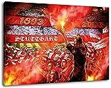 Ultras-Art Stuttgart Collage Format: 100x70, Bild auf