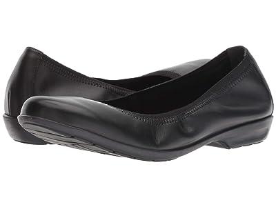 Walking Cradles Foley (Black Leather) Women