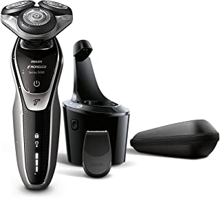 Philips Norelco Electric Shaver 5700 Wet & Dry, S5370/84, with Turbomode and SmartClean