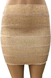Women's Short Elastic Bandage Comfortable & Stretch Day/Night Mini Skirt