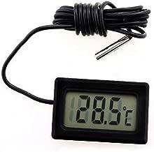 Mingtongli LCD Digital term/ómetro higr/ómetro Temperatura Interior Temperatura Inicio Sensor de Temperatura Conveniente Medidor de Temperatura del Sensor de Humedad Metros