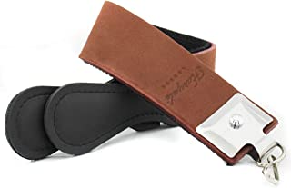 Haryali London Bruine Echt Leer Slijpen Strop Belt Sharpener voor Stropping Kapper Rechte Scheermessen