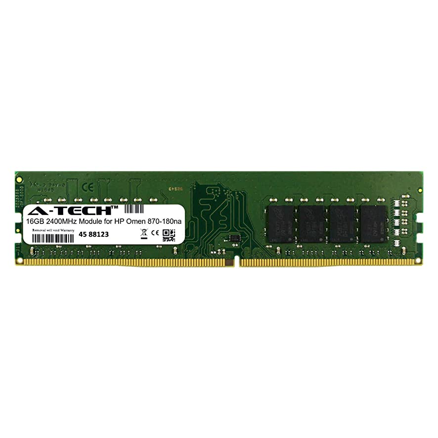 A-Tech 16GB Module for HP Omen 870-180na Desktop & Workstation Motherboard Compatible DDR4 2400Mhz Memory Ram (ATMS282203A25822X1)