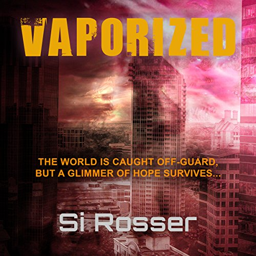 Vaporized audiobook cover art