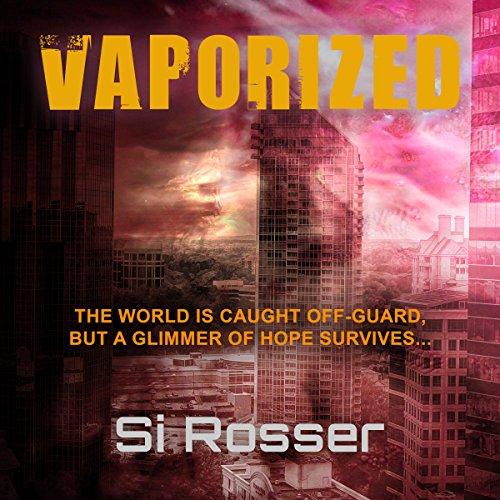 Vaporized cover art