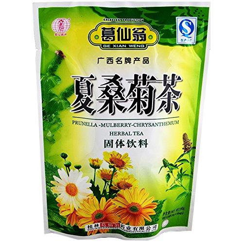 Ge Xian Weng - Prunella Mulberry Chrysanthemum Granule (Xia Sang Ju), Pack of 2 , Total 32 Bags