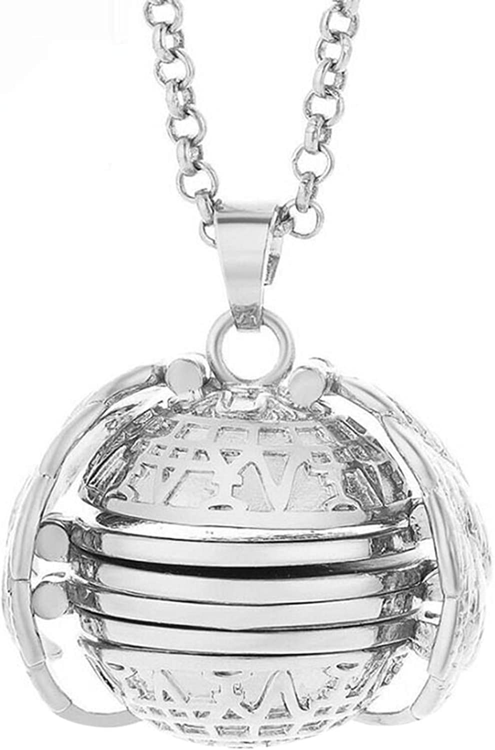 Engagement Necklace Jewelry for Women 4-Layers Popular Openable Max 57% OFF Al Retro