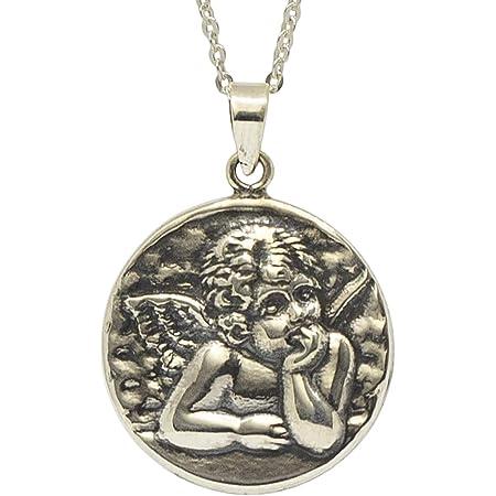 Silvora Medalla San Benito Abad Plata y Cruz Hombre Collar ...