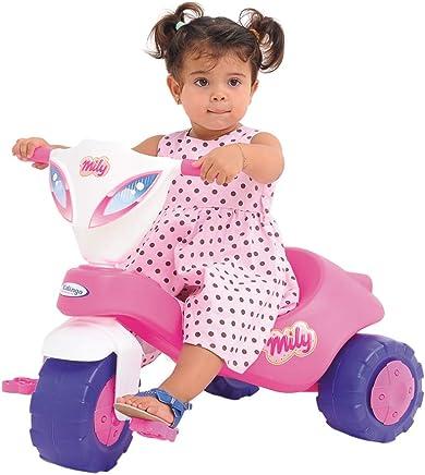 Triciclo Mily Xalingo Rosa Médio